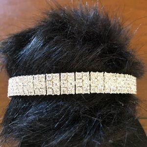 Jewelry - NEW 1K, 3 Row Tennis Bracelet